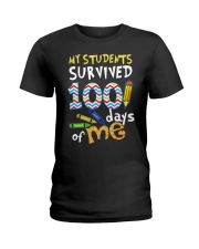 My Students Survived 100 Days Of Me Shirt Ladies T-Shirt thumbnail