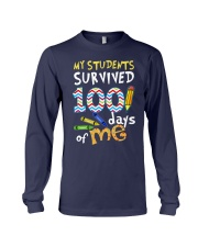 My Students Survived 100 Days Of Me Shirt Long Sleeve Tee thumbnail