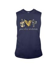 Peace Love Motocross Shirt Sleeveless Tee thumbnail