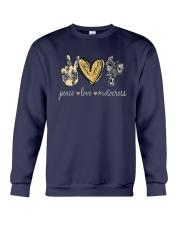 Peace Love Motocross Shirt Crewneck Sweatshirt thumbnail