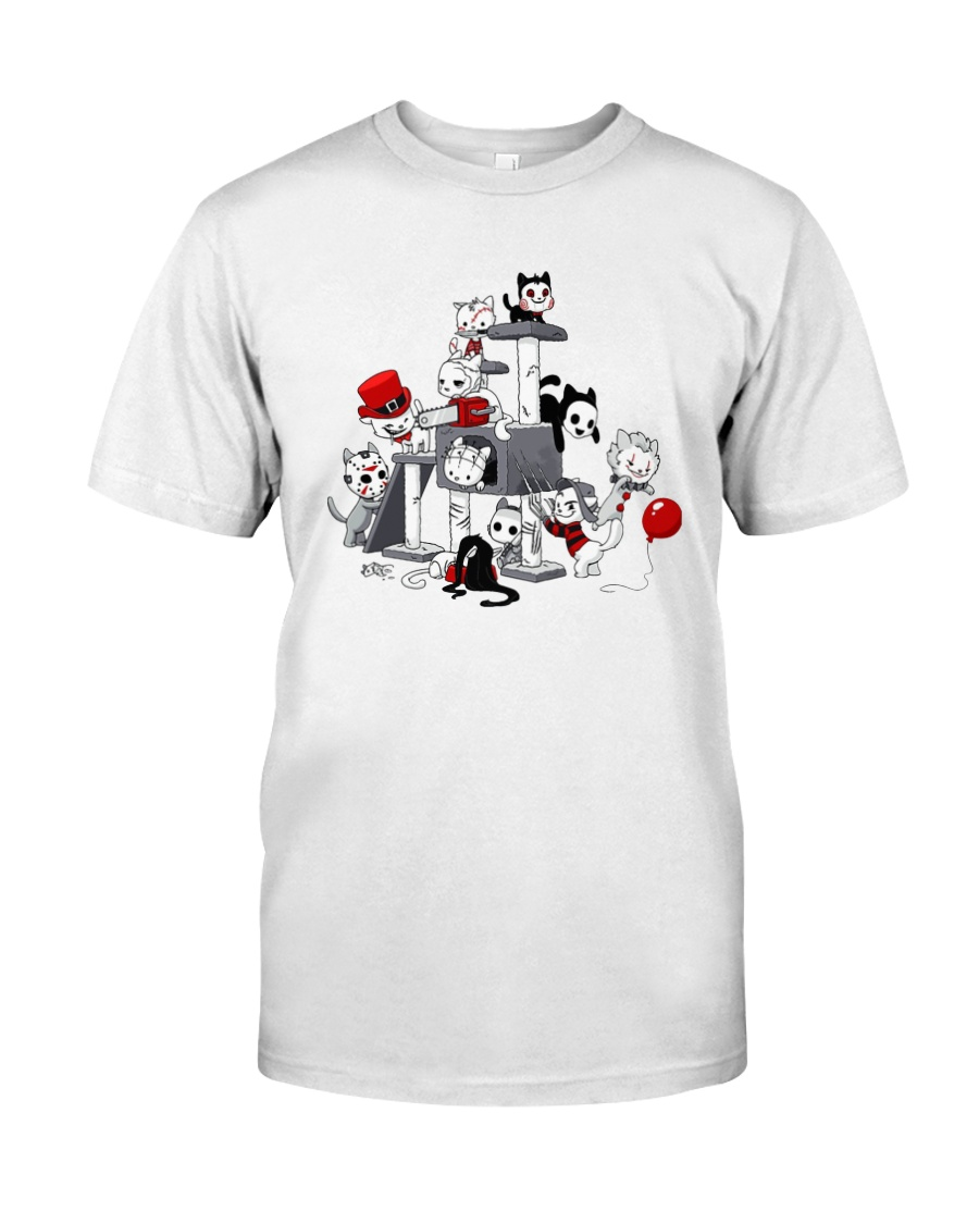 Pennywise Horror Kitties Shirt Classic T-Shirt