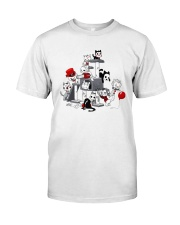 Pennywise Horror Kitties Shirt Classic T-Shirt front