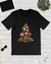 Chicken Christmas Tree Shirt Classic T-Shirt lifestyle-mens-crewneck-front-17