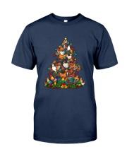Chicken Christmas Tree Shirt Classic T-Shirt tile