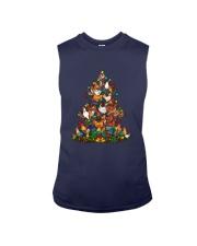 Chicken Christmas Tree Shirt Sleeveless Tee thumbnail