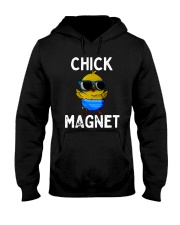 Easter Chicken Chick Magnet Shirt Hooded Sweatshirt thumbnail