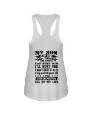 My Son Is My Baby Today Tomorrow Hurt You Shirt Ladies Flowy Tank thumbnail