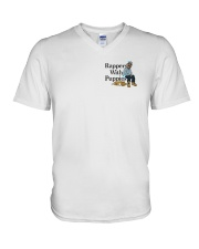 Rappers With Puppies Shirt Zumiez V-Neck T-Shirt thumbnail