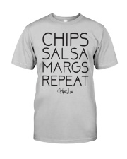 Chips Salsa Margs Repeat Shirt Classic T-Shirt tile