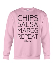 Chips Salsa Margs Repeat Shirt Crewneck Sweatshirt thumbnail