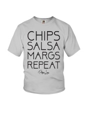 Chips Salsa Margs Repeat Shirt Youth T-Shirt thumbnail