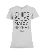Chips Salsa Margs Repeat Shirt Premium Fit Ladies Tee thumbnail