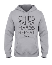 Chips Salsa Margs Repeat Shirt Hooded Sweatshirt thumbnail