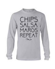 Chips Salsa Margs Repeat Shirt Long Sleeve Tee thumbnail