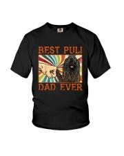 Vintage Best Puli Dad Ever Shirt Youth T-Shirt thumbnail