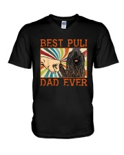 Vintage Best Puli Dad Ever Shirt V-Neck T-Shirt thumbnail