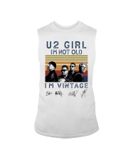 Vintage U2 Girl I'm Not Old I'm Vintage Shirt Sleeveless Tee thumbnail