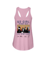 Vintage U2 Girl I'm Not Old I'm Vintage Shirt Ladies Flowy Tank thumbnail