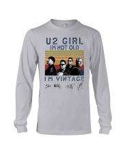 Vintage U2 Girl I'm Not Old I'm Vintage Shirt Long Sleeve Tee thumbnail