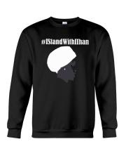 IstandWithIlhan Shirt Crewneck Sweatshirt thumbnail