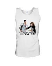 You Just Fold It In Shirt Unisex Tank thumbnail