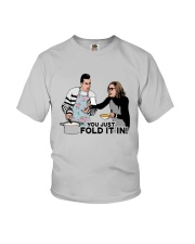 You Just Fold It In Shirt Youth T-Shirt thumbnail