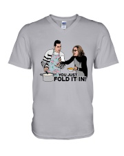 You Just Fold It In Shirt V-Neck T-Shirt thumbnail