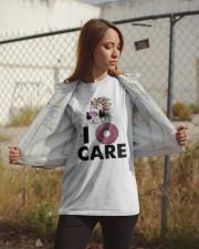 Unicorn Donut I Care Shirt Classic T-Shirt apparel-classic-tshirt-lifestyle-07