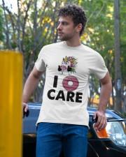 Unicorn Donut I Care Shirt Classic T-Shirt apparel-classic-tshirt-lifestyle-front-44