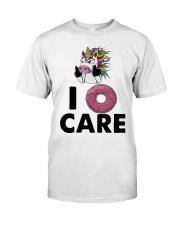 Unicorn Donut I Care Shirt Premium Fit Mens Tee thumbnail