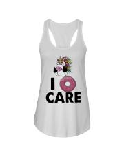 Unicorn Donut I Care Shirt Ladies Flowy Tank thumbnail
