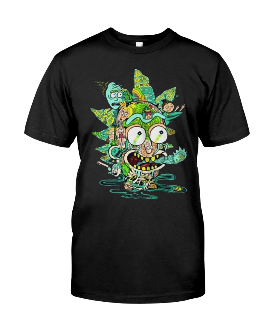 Among Worlds Rick And Morty T Shirt Classic T-Shirt