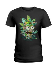Among Worlds Rick And Morty T Shirt Ladies T-Shirt tile