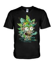 Among Worlds Rick And Morty T Shirt V-Neck T-Shirt thumbnail