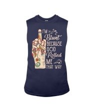 Hippie Fuck Im Blunt Because God Rolled Shirt Sleeveless Tee thumbnail