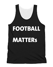 Football matters t shirts All-Over Unisex Tank tile