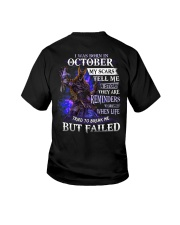 October Men My Scars  Youth T-Shirt tile