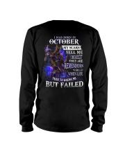 October Men My Scars  Long Sleeve Tee thumbnail