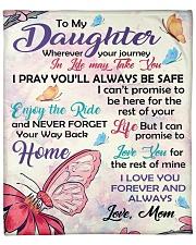 """Blanket To My Daughter Fleece Blanket - 50"""" x 60"""" front"""