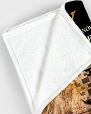 "Blanket To My Dad Large Fleece Blanket - 60"" x 80"" aos-coral-fleece-blanket-60x80-lifestyle-front-12"