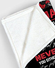 "Dear James  - Mum xx Large Fleece Blanket - 60"" x 80"" aos-coral-fleece-blanket-60x80-lifestyle-front-12"