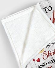 "To My Husband  Large Fleece Blanket - 60"" x 80"" aos-coral-fleece-blanket-60x80-lifestyle-front-12"