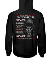 October My Life Hooded Sweatshirt thumbnail