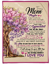 "To My Mom - Son Large Fleece Blanket - 60"" x 80"" front"