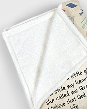 "To My Granddaughter - Grandma Large Fleece Blanket - 60"" x 80"" aos-coral-fleece-blanket-60x80-lifestyle-front-12"