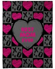 "Best Mom Ever  Large Fleece Blanket - 60"" x 80"" front"