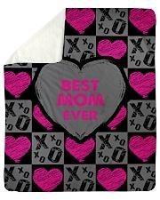 "Best Mom Ever  Sherpa Fleece Blanket - 50"" x 60"" thumbnail"