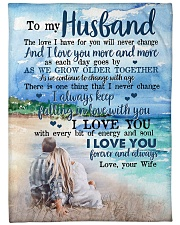 "To My Husband  Small Fleece Blanket - 30"" x 40"" thumbnail"