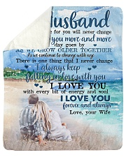 "To My Husband  Sherpa Fleece Blanket - 50"" x 60"" thumbnail"
