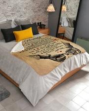 "To My Husband Sherpa Fleece Blanket - 50"" x 60"" aos-sherpa-fleece-blanket-lifestyle-front-02"